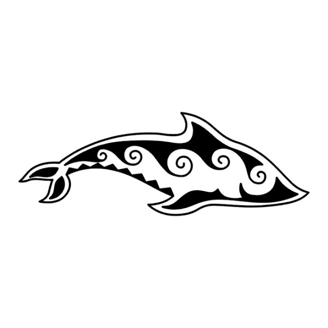татуировка дельфин (2)