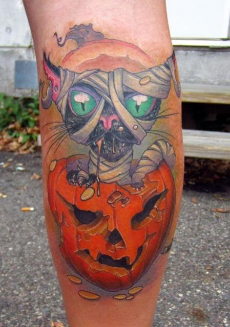 Татуировки на Хэллоуин 2012 (32)