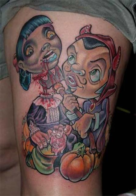 Татуировки на Хэллоуин 2012 (31)