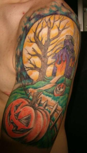 Татуировки на Хэллоуин 2012 (30)