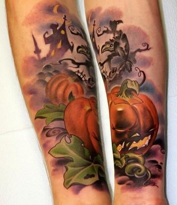 Татуировки на Хэллоуин 2012 (28)