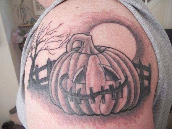 Татуировки на Хэллоуин 2012 (40)
