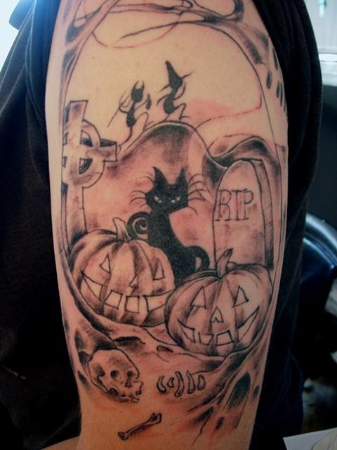 Татуировки на Хэллоуин 2012 (22)