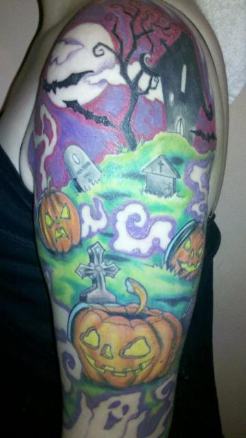 Татуировки на Хэллоуин 2012 (20)