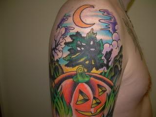 Татуировки на Хэллоуин 2012 (19)