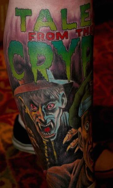 Татуировки на Хэллоуин 2012 (14)