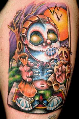 Татуировки на Хэллоуин 2012 (13)