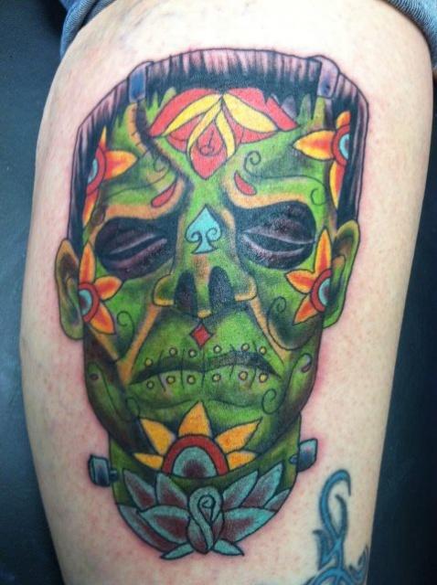 Татуировки на Хэллоуин 2012 (39)