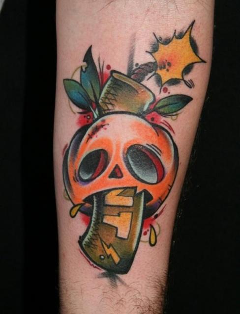 Татуировки на Хэллоуин 2012 (12)