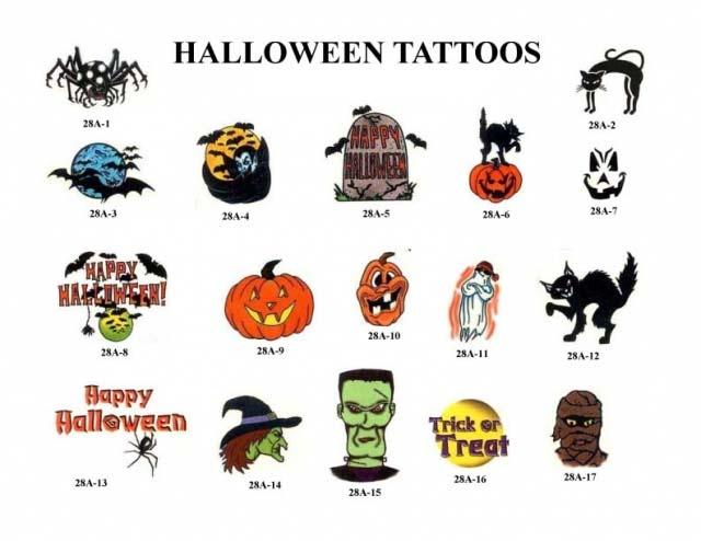 Татуировки на Хэллоуин 2012 (9)