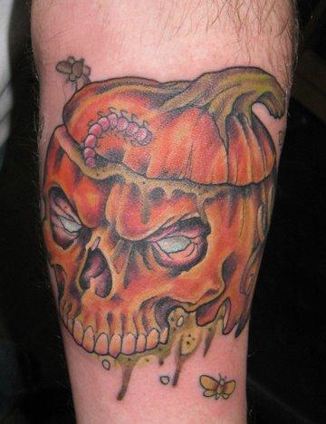 Татуировки на Хэллоуин 2012 (7)