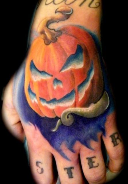Татуировки на Хэллоуин 2012 (6)