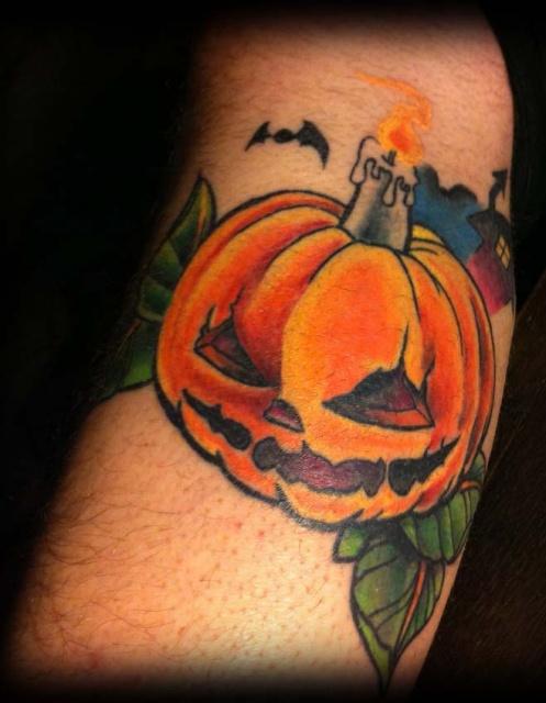 Татуировки на Хэллоуин 2012 (5)