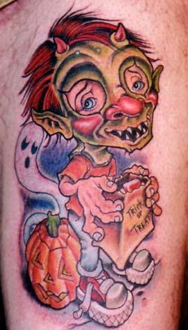 Татуировки на Хэллоуин 2012 (4)