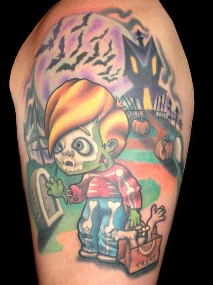 Татуировки на Хэллоуин 2012 (3)
