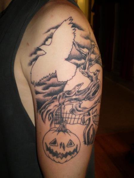 Татуировки на Хэллоуин 2012 (38)
