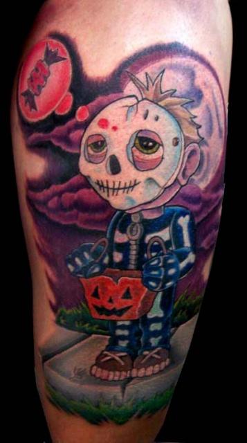 Татуировки на Хэллоуин 2012 (2)