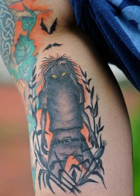 Татуировки на Хэллоуин 2012 (1)