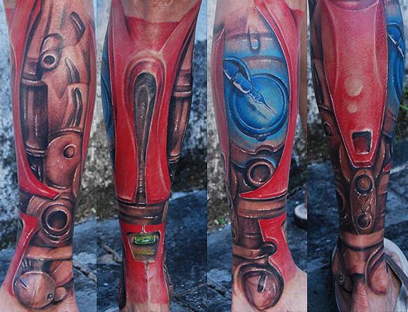 Татуировки: железный человек (30)