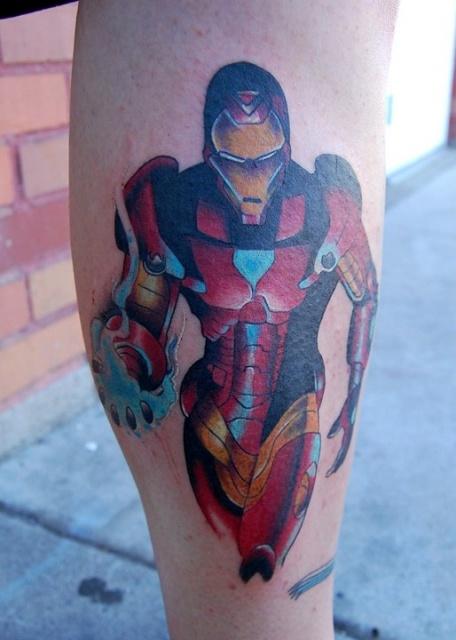 Татуировки: железный человек (20)