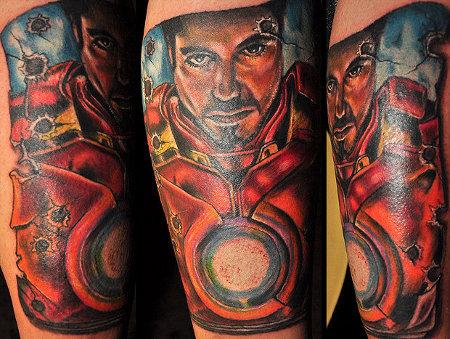 Татуировки: железный человек (19)