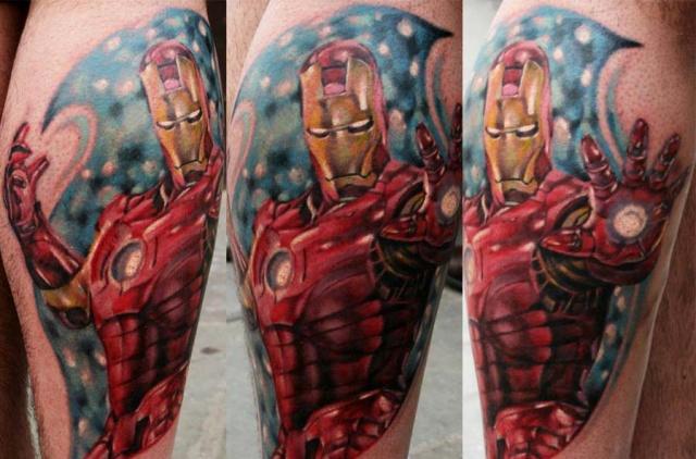 Татуировки: железный человек (17)