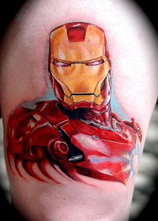 Татуировки: железный человек (16)
