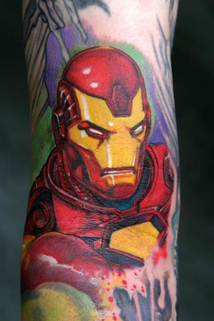 Татуировки: железный человек (15)