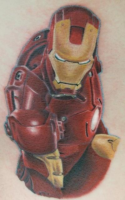 Татуировки: железный человек (14)