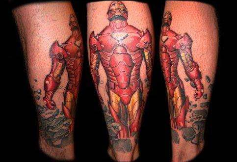 Татуировки: железный человек (29)