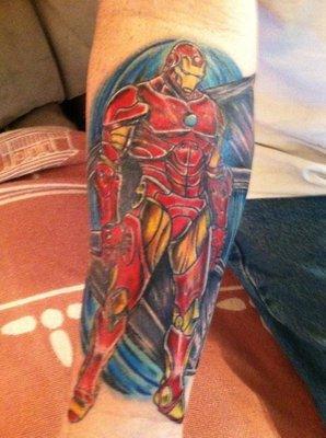 Татуировки: железный человек (8)