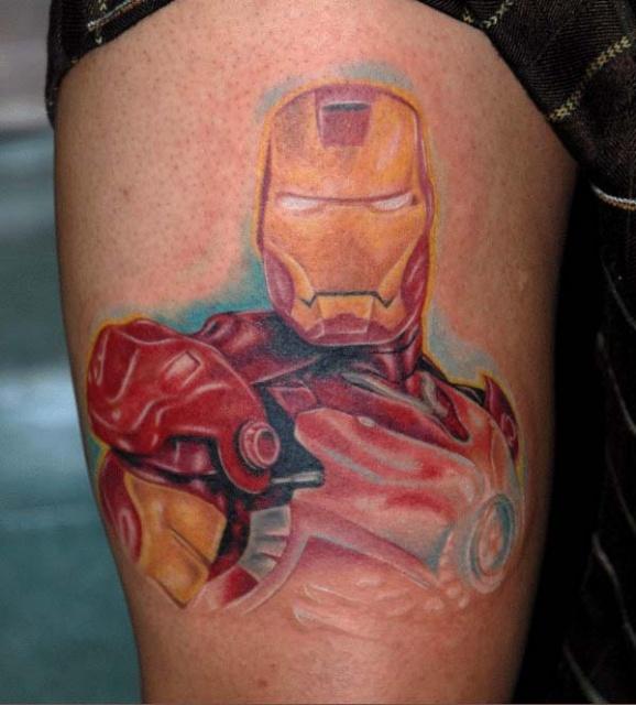 Татуировки: железный человек (7)