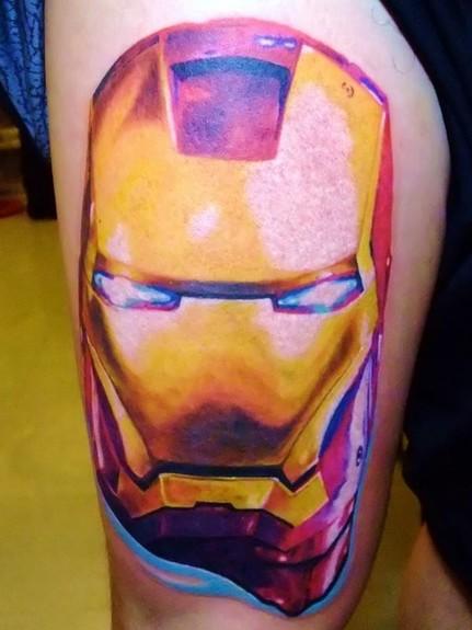 Татуировки: железный человек (6)