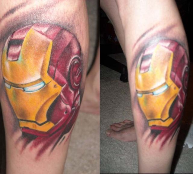 Татуировки: железный человек (4)