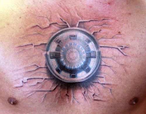 Татуировки: железный человек (2)