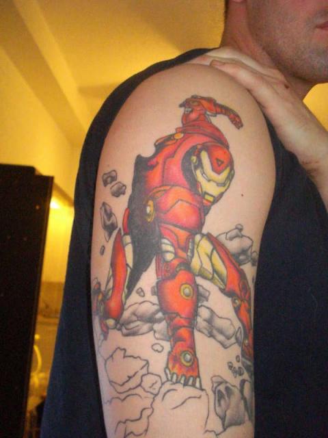 Татуировки: железный человек (1)