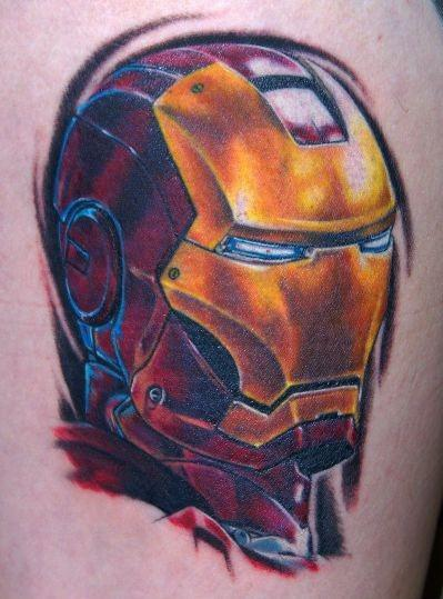 Татуировки: железный человек (24)