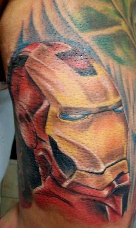Татуировки: железный человек (22)