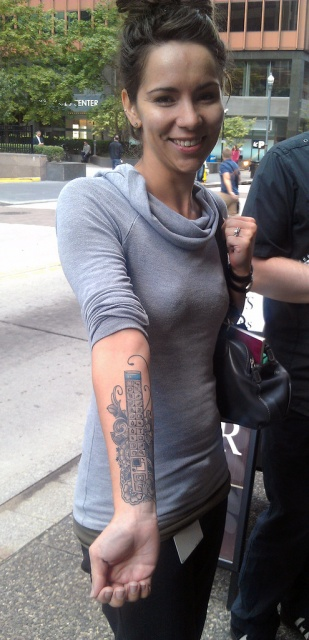 Татуировка фотошопа на руке фото