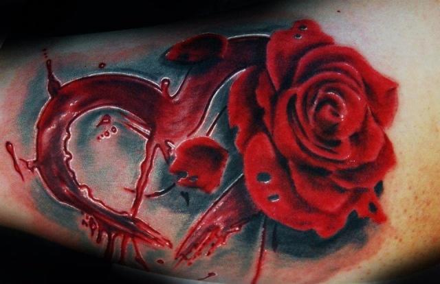 Татуировка роза (3)