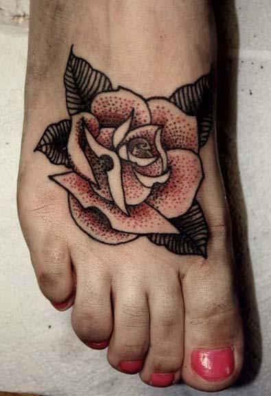 Татуировка роза (4)