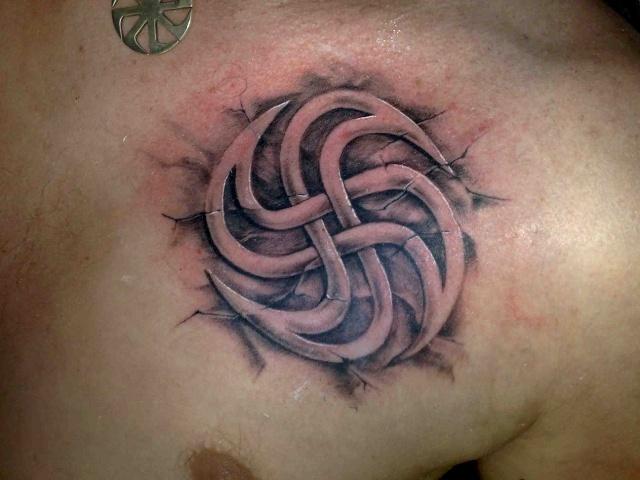 татуировка свастика (15)
