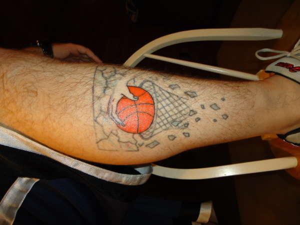 Татуировки: баскетбол (1)