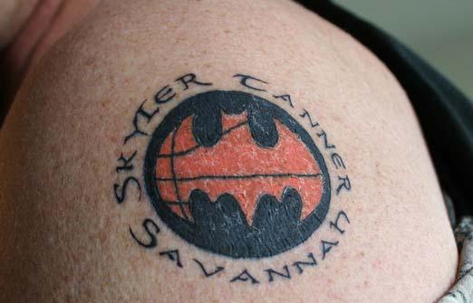 Татуировки: баскетбол (11)