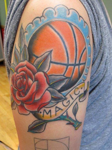 Татуировки: баскетбол (14)