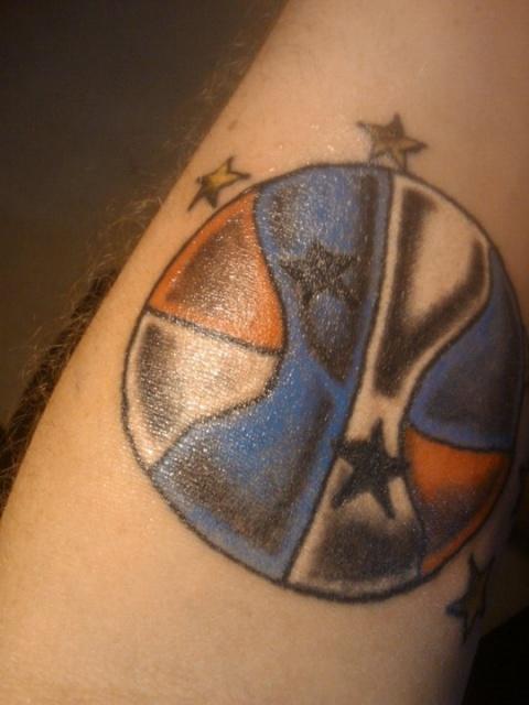Татуировки: баскетбол (19)