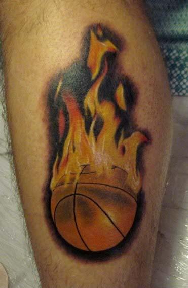 Татуировки: баскетбол (22)