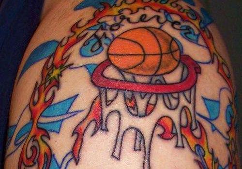 Татуировки: баскетбол (27)