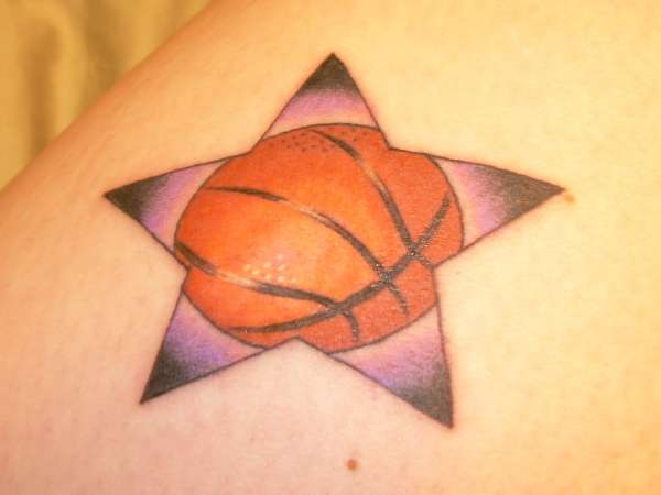 Татуировки: баскетбол (3)