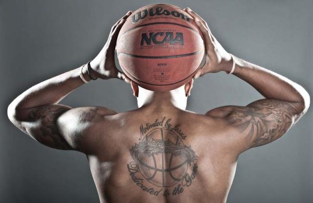 Татуировки: баскетбол (31)